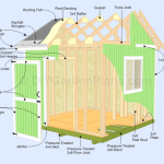 Gable Shed Plans | Overview | Page 2 (10×10) – 005