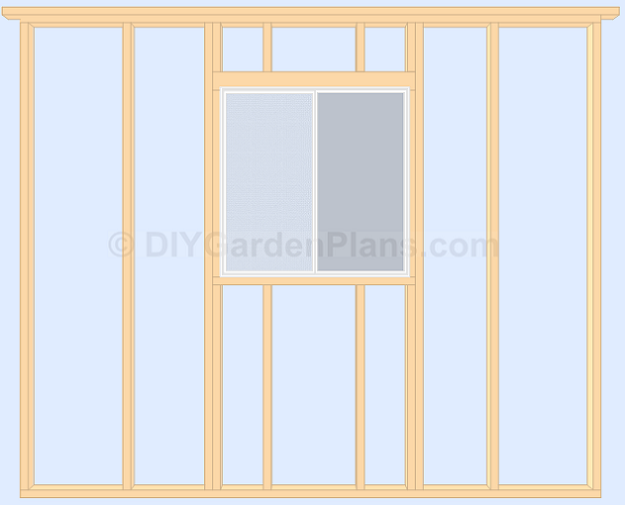Shed Plans Install Window