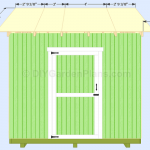 Gable Shed Plans| Roof Decking| Page 14