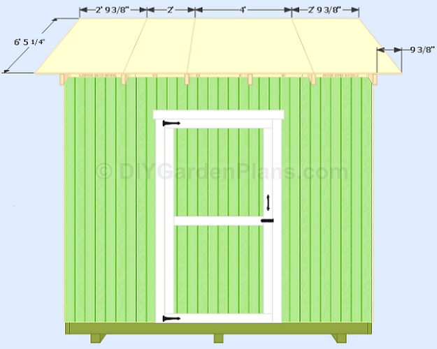 Shed Plans Roof Decking