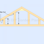 Cont…|Gable Shed Plans| Roof Rafters| Page 13