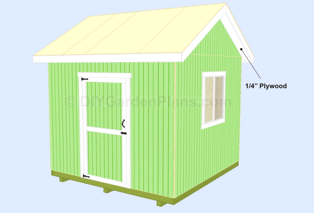 Shed Plans Soffit