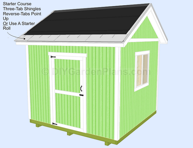 Shed Plans Shingles Starter Course