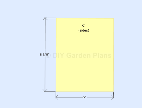 Bluebird House Plans-sides
