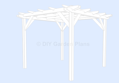 Pergola Plans - How To Build A Pergola