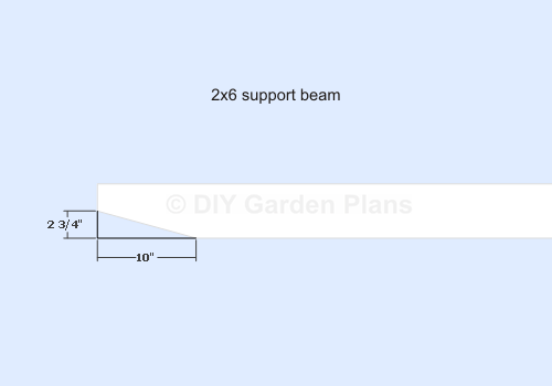 Pergola Plans - Support Beam Ends