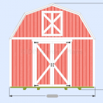 Gambrel Shed Plans With Loft: Overview : Page2