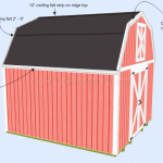 Gambrel Shed Plans With Loft: Shingles: Page 11