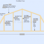 Gambrel Shed Plans With Loft: Roof: Page 7