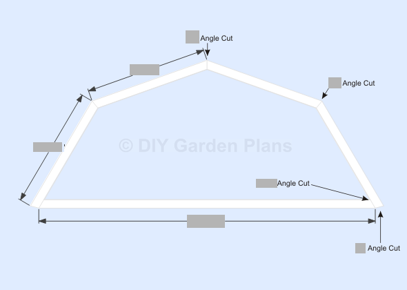 Gambrel shed plans with loft trim for Barn roof plans