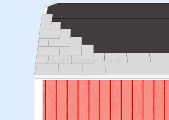 Gambrel Shed Plans With Loft Shingles – How To Shingle A Roof With 3 Tab