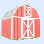 Barn Shed with Loft