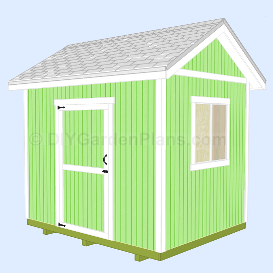 10x8 gable shed 005