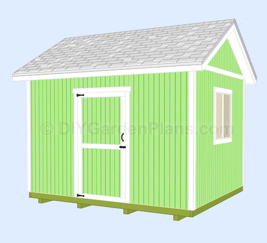Ham 8 x 15 shed plans for Gable barn plans