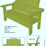 Build-it-Yourself Garden Bench ( free plans )