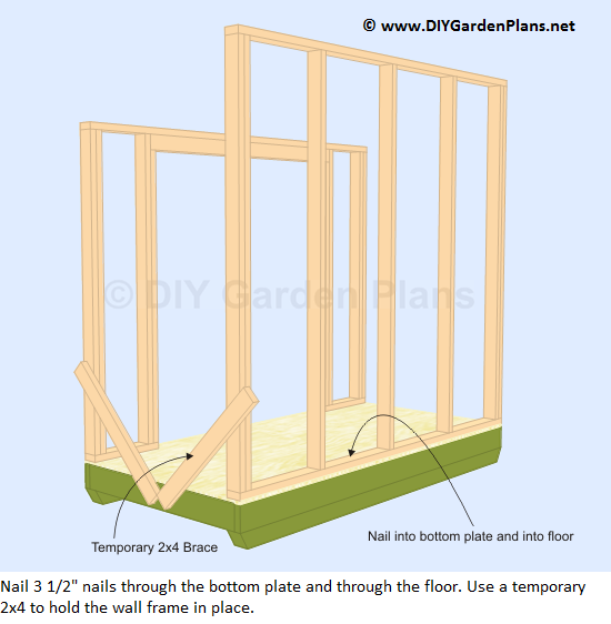 14-lean-to-shed-plans-back-wall-frame-up