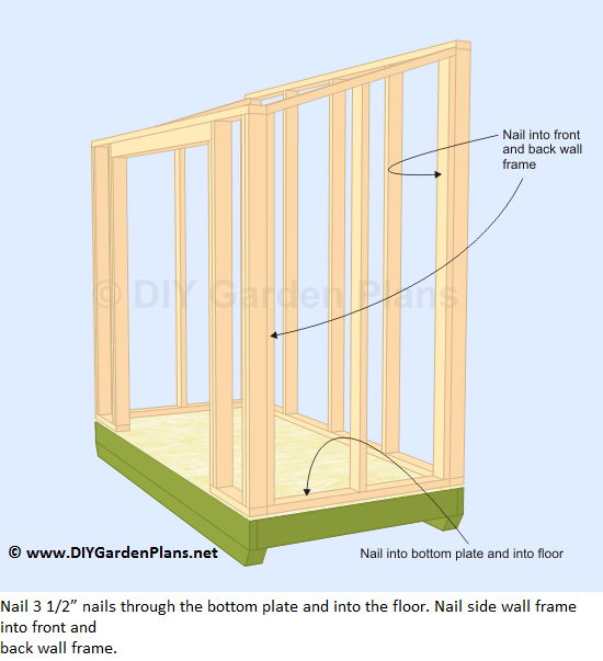 16-lean-to-shed-plans-side-wall-frame-up