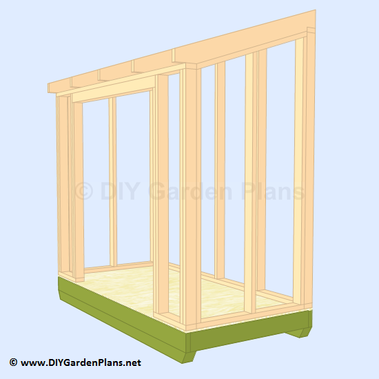 17-lean-to-shed-plans-building-rafters
