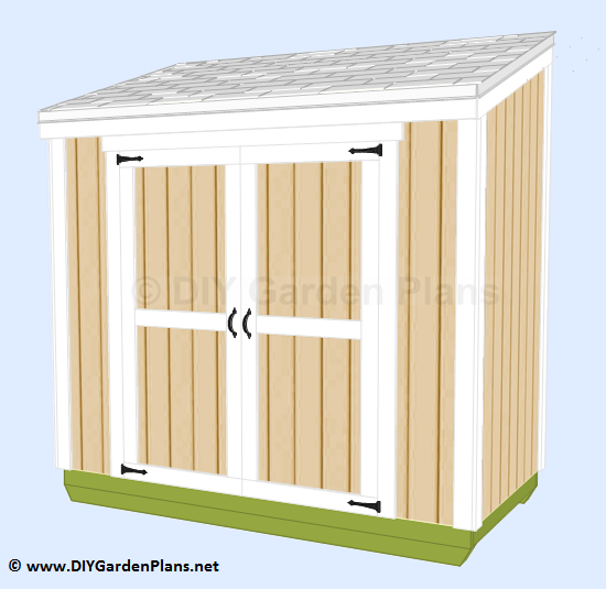 2-lean-to-shed-plans