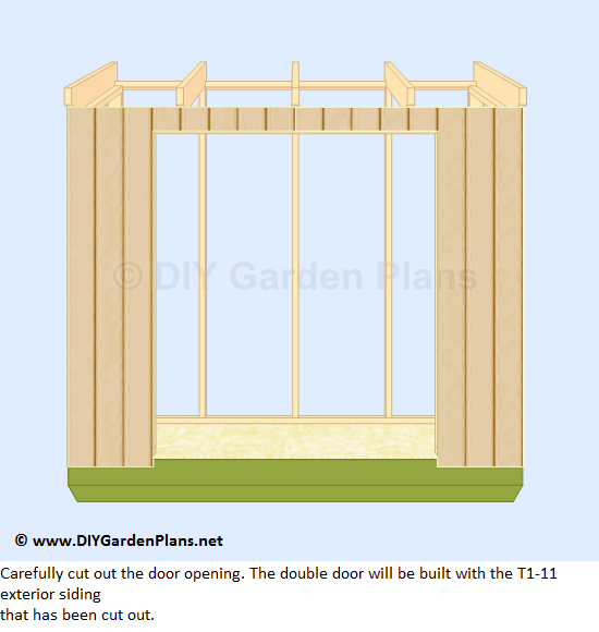 24-lean-to-shed-plans-cut-door