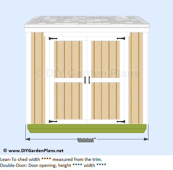 3-lean-to-shed-plans-front-view