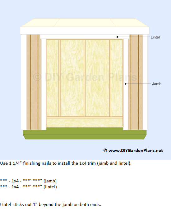 38-lean-to-shed-plans-door-trim