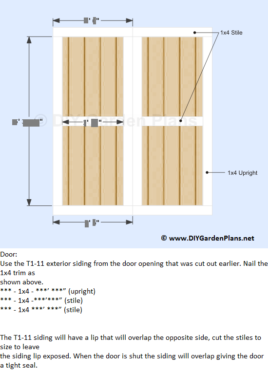39-lean-to-shed-plans-door