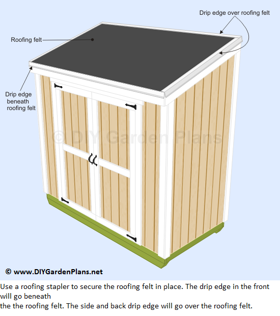 41-lean-to-shed-plans-roofing-felt-drip-edge