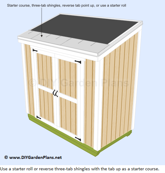42-lean-to-shed-plans-roof-starter-course