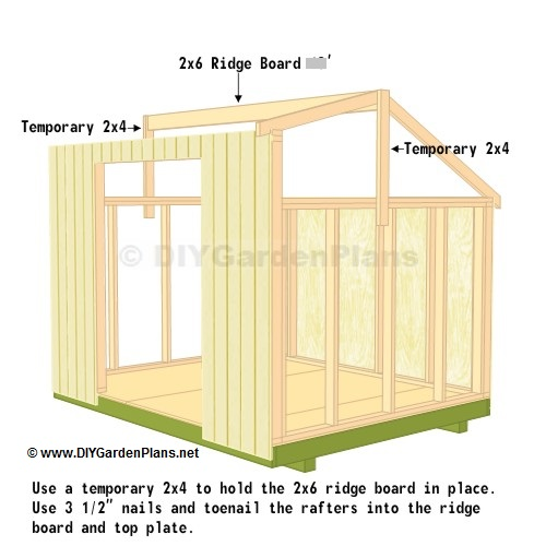 Diy saltbox shed guide for 10x8 shed floor plans