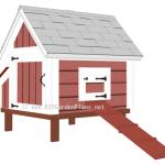 4×4 Chicken Coop Plans (009)