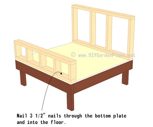 14-chicken-coop-plans-nest-box-wall-frame-up