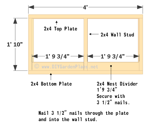 15-chicken-coop-plans-left-wall-framing