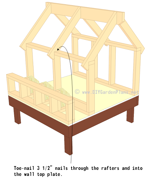 22-chicken-coop-plans-truss-installed