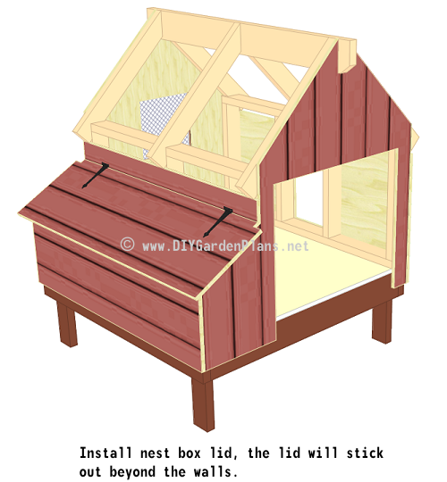 37-chicken-coop-plans-nest-box-lid-installed