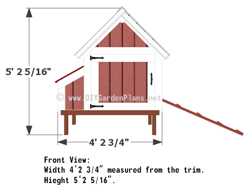 4-chicken-coop-plans-front-view
