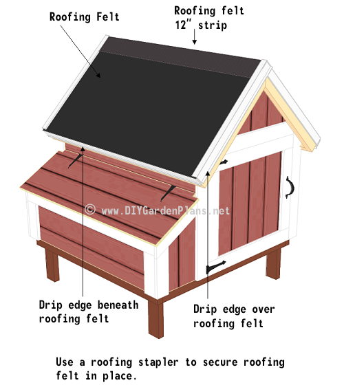 52-chicken-coop-plans-shingles-felt-drip-edge