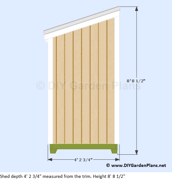 2-4x8-lean-to-shed-plans-side-view