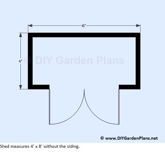 3-4x8-lean-to-shed-plans-floor-view