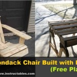 DIY Adirondack Chair Built with Pallets (free plans)