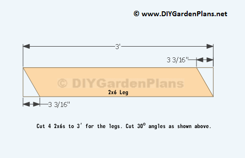 Traditional Style Picnic Table Plans – DIYGardenPlans